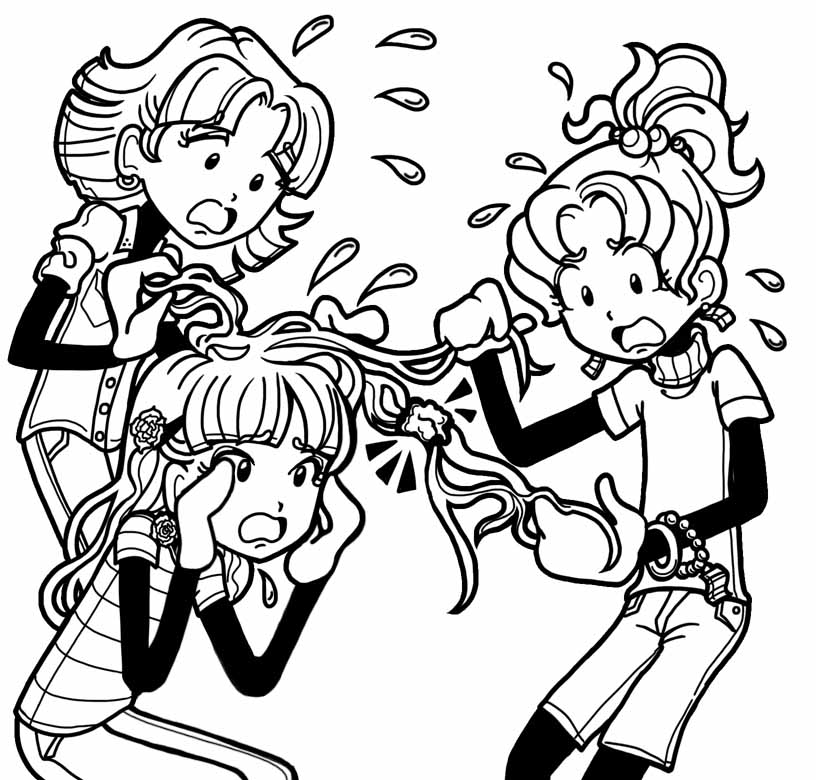 merpups coloring pages - photo#28